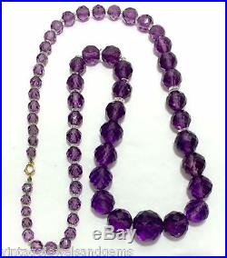 how to clean amethyst necklace