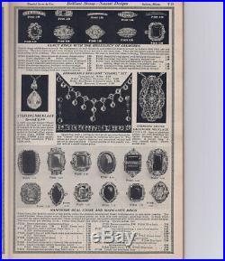 ART DECO FRINGE Necklace STERLING 1930s FINE Open Back CRYSTALS 15 Choker