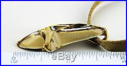 Baccarat Jewelry Pampilles Solid 18k Gold Pendant Necklace Small Mordore New