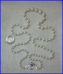 Edwardian Sapphire Diamond Pearl Necklace Art Deco Belle Epoque c1910 14K Superb