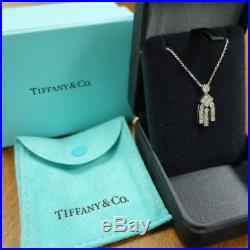 e8fd56a3863a2 Tiffany & Co. Art Deco Style Platinum & Diamond Necklace Approx ...